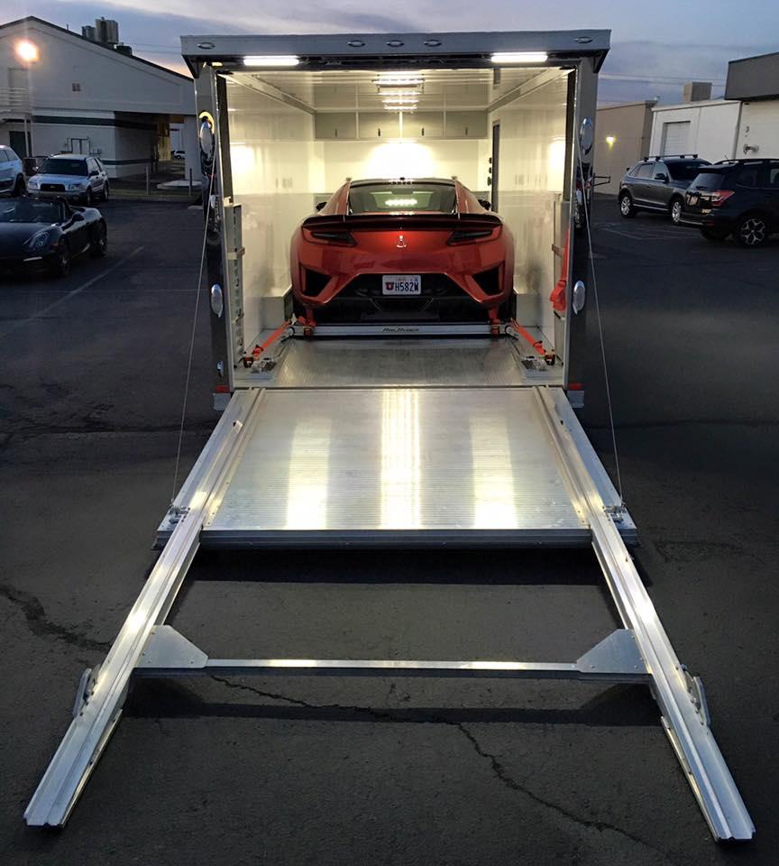 Acura NSX Rail Ryder Loading System