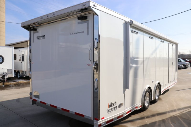 Custom Enclosed Car Trailers For Race Cars Built With