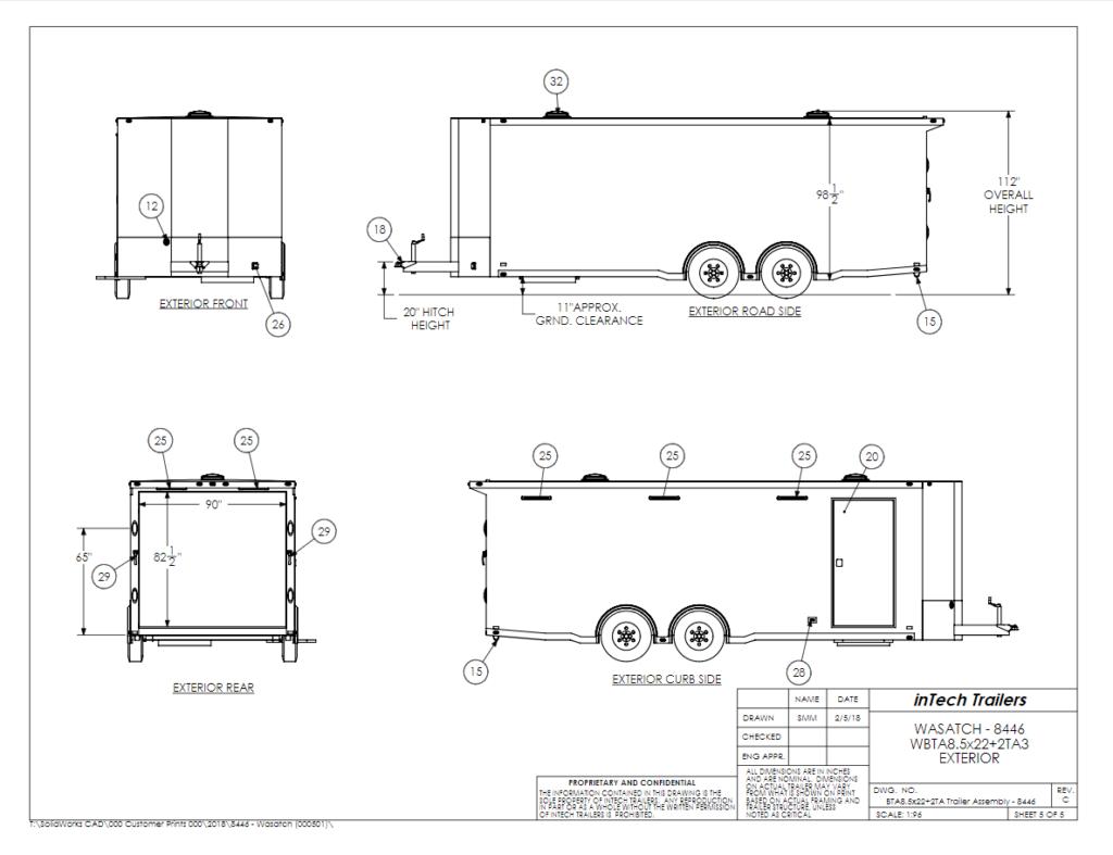 Custom Enclosed Car Trailers For Race Cars
